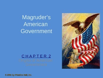 Government: Chp 2 Origins of American Government ppt