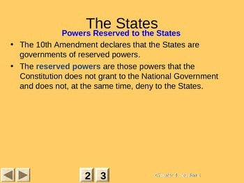 Government: Chp 4 Federalism PPT