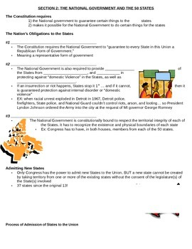 Government: Chp 4 guided notes