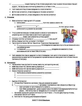 Government: Chp 7 The Electoral Process Guided Notes
