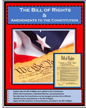 Government - Civics - BILL OF RIGHTS - AMENDMENTS - CONSTITUTION