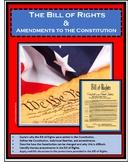 Government - Civics - BILL OF RIGHTS - AMENDMENTS - CONSTITUTION