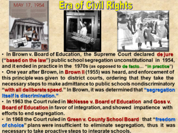 Government: Civil Rights: Equal Justice Under The Law