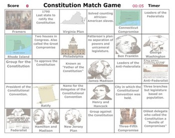 Government - Constitutional Convention Match - Bill Burton