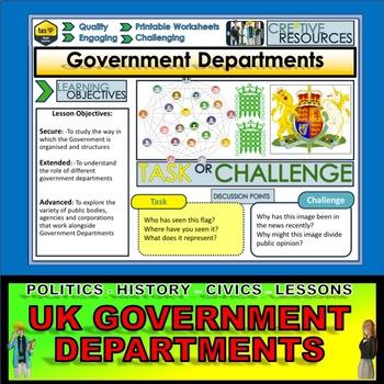 Government Departments - British Politics