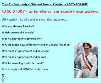 Government: Dictatorships