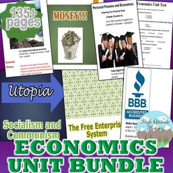 Economics Unit (Government / Civics) *Unit Bundle*