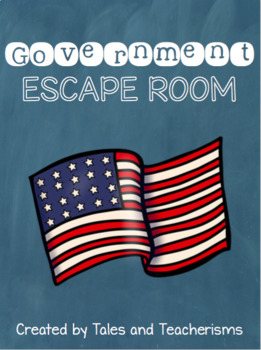 Government Escape the Room Mystery