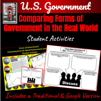Government: Forms of Government in the Real World Student Activity