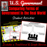 Government: Forms of Government in the Real World Student