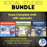 Government, Geography, Economics Printable Bundle