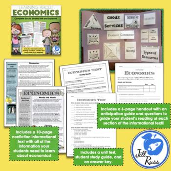 Government, Geography, Economics Social Studies Bundle
