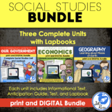 Government, Geography, Economics Social Studies Bundle