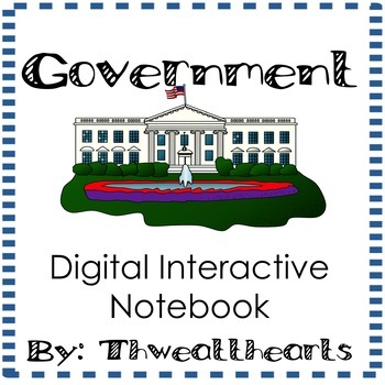 Government Digtal Interactive Notebook