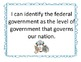 """Government """"I Can"""" Statement Posters"""