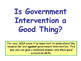 Government Intervention in the Economy - Ways to Correct Market Failure
