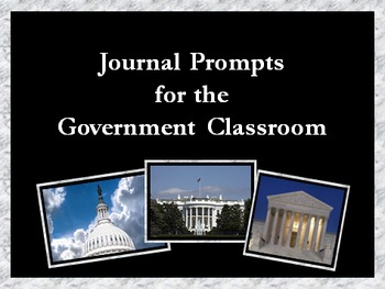 Government Journal Prompts