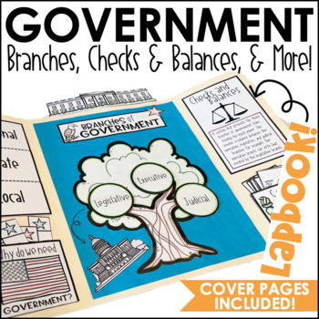 3 Branches of Government Lapbook Activity