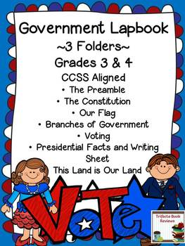 Government Lapbook ~ Grades 3 & 4