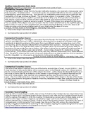 Government, Law, and Religion - Reading Comprehension Exam Study Guide