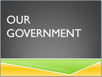 Government - Laws & Branches