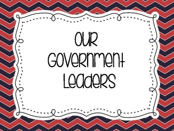 Government Leaders PowerPoint