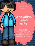 Government Legislative Branch Quiz
