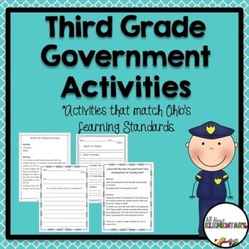 Third Grade Government Activities