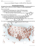 Government Made Simple - Legislative Branch (Student and Teacher Notes, Wrksht)