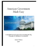 Government Made Simple: Unit 1 The Basics