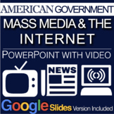 Government: Mass Media & the Internet PowerPoint w/Video c