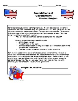 Government Poster Project