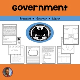 Government: President, Governor, Mayor