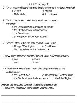 Government Quiz