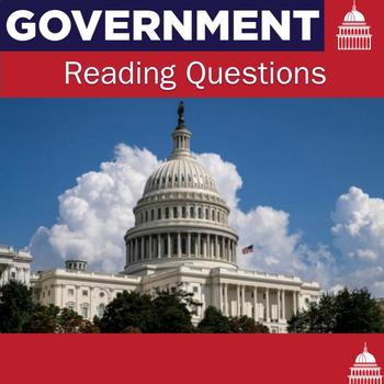 Government Reading Questions for each Chapter