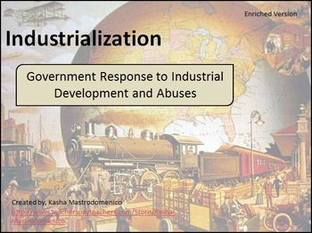 Government Response to Industrial Development and Abuses Bundle