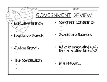 Government Review Activity