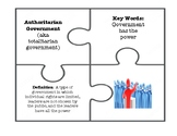 Government Review Puzzle Pieces