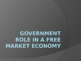 Government Role in a Free Market Economy