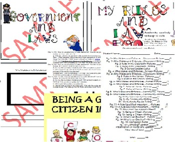 Government, Rules, and Laws Unit