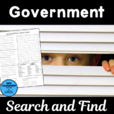 Government Word Search