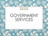 Government Services Powerpoint