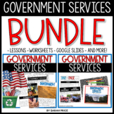 Government Services Worksheets and Digital Activities