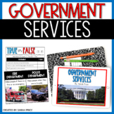 Government Services and Volunteering Google Slides Activities