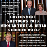 Government Shutdown 2019 - Analysis and Argument Synthesis