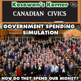Government Spending in Canada Simulation