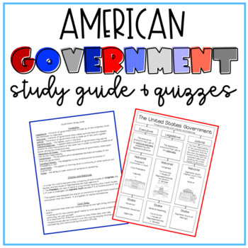 Government Study Guide & Quizzes