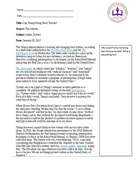 Torture Research Essay Unit By The Married Teachers English Store Torture Research Essay Unit How To Write An Essay For High School also High School Admission Essay Sample  Graduating From High School Essay