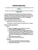 Government Syllabus and Syllabus Quiz