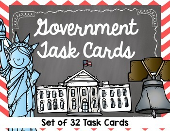Government Task Cards